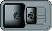 Врезная кухонная мойка Ewigstein Antik 60KF 86х51см