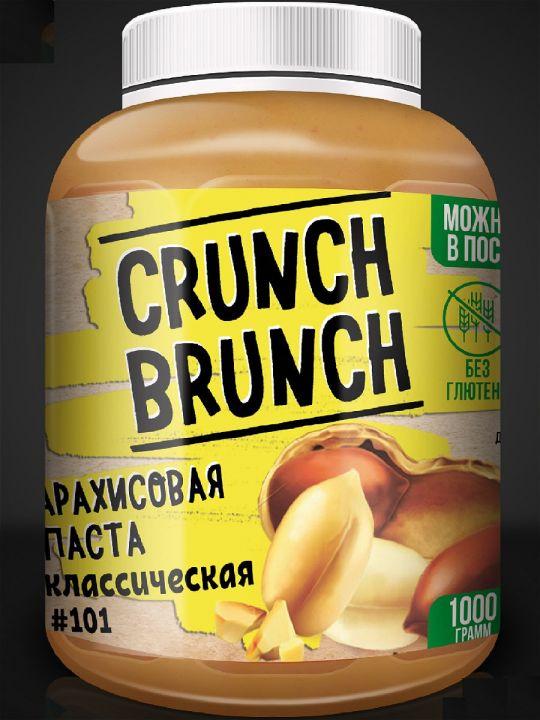 Crunch-Brunch Арахисовая паста 1000 г
