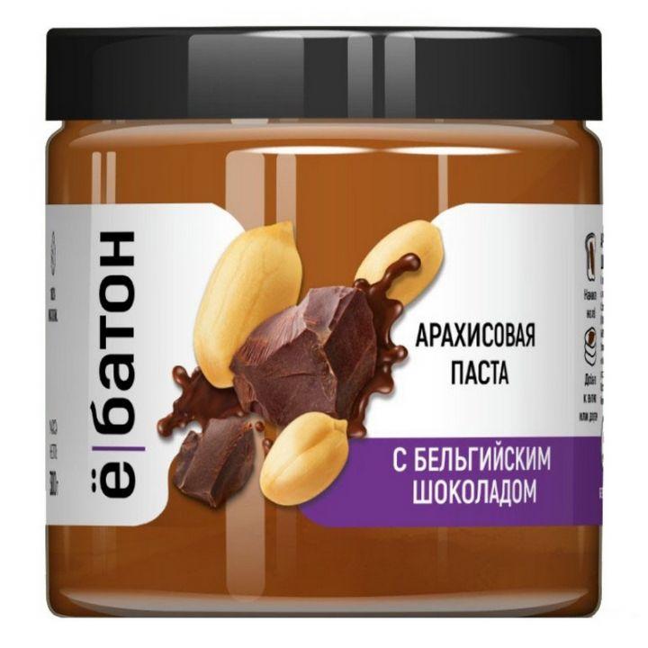 Ёбатон - Арахисовая паста  с бельгийским шоколадом