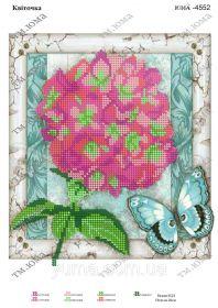 ЮМА ЮМА-4552 Цветочек схема для вышивки бисером купить оптом в магазине Золотая Игла - вышивка бисером