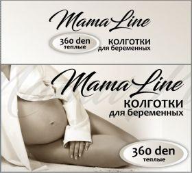 """Колготки """"MamaLine"""" 360den тёплые"""