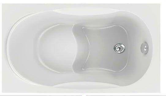 Акриловая ванна BAS Рио 105x70 без гидромассажа