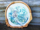 """Схема для вышивки крестом """"Дитя океана"""". Отшив."""
