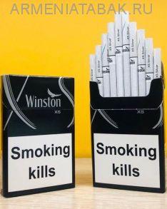 (160)Winston XS Silver (Duty free)