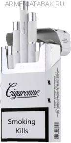 (135)Cigaronne King Size White Duty free АМ