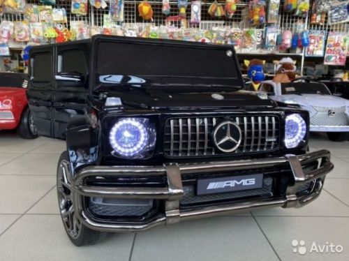Электромобиль Mercedes двухместный G63