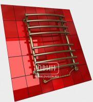 Бронзовый электрический полотенцесушитель Двин R primo electro 80/50