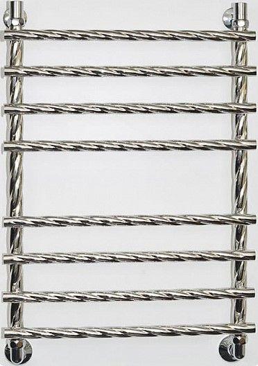 Черный водяной полотенцесушитель Двин R braid 80/50