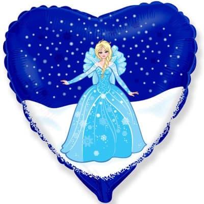 Сердце Персонаж 1 шар фольгированный с гелием