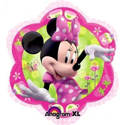 Минни Маус Цветок шар фольгированный с гелием