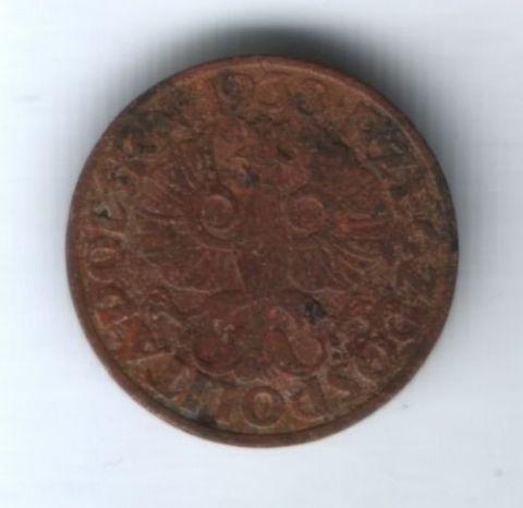 2 гроша 1938 года Польша VF-