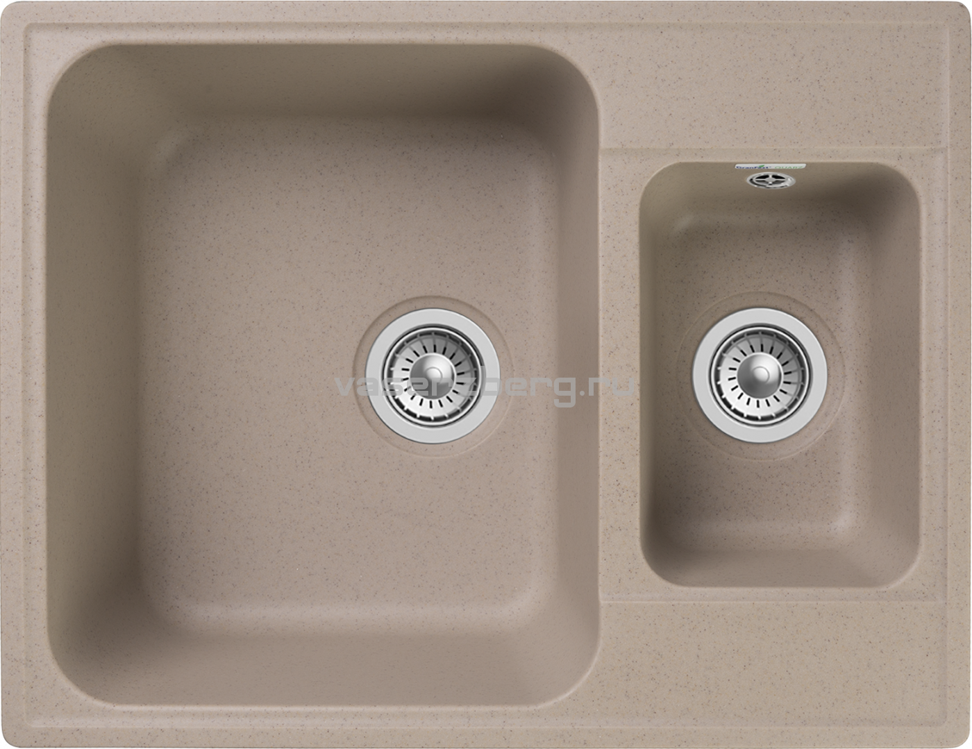 Кухонная мойка GranFest Quarz Z-09 Песочный