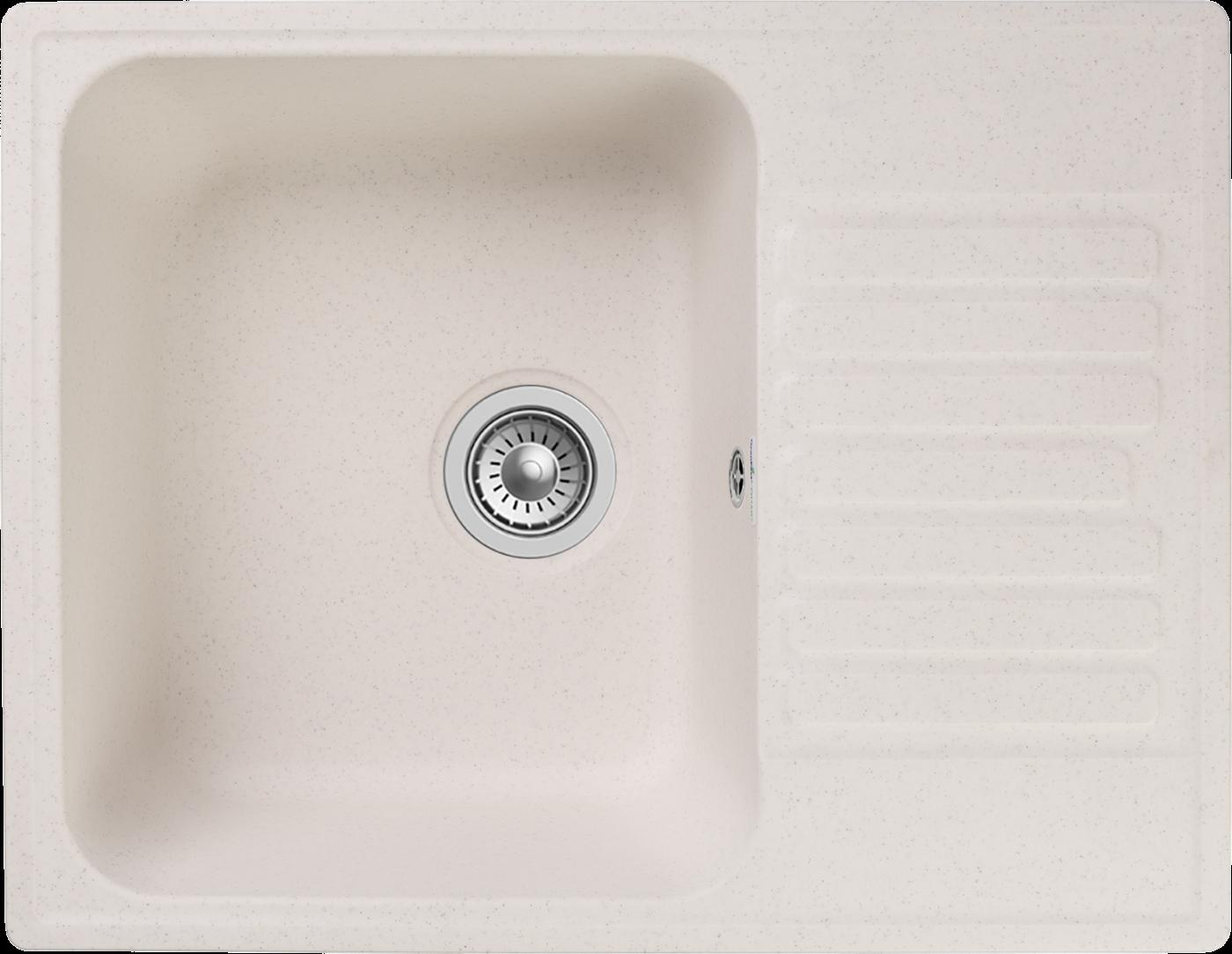 Кухонная мойка GranFest Quarz Z-13 Белый