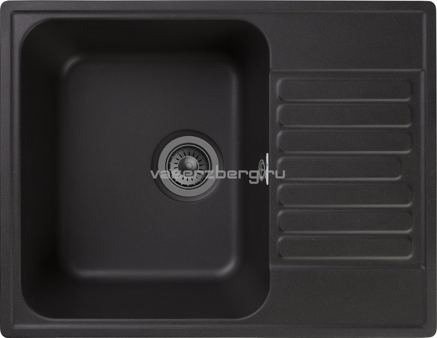 Кухонная мойка GranFest Quarz Z-13 Черный