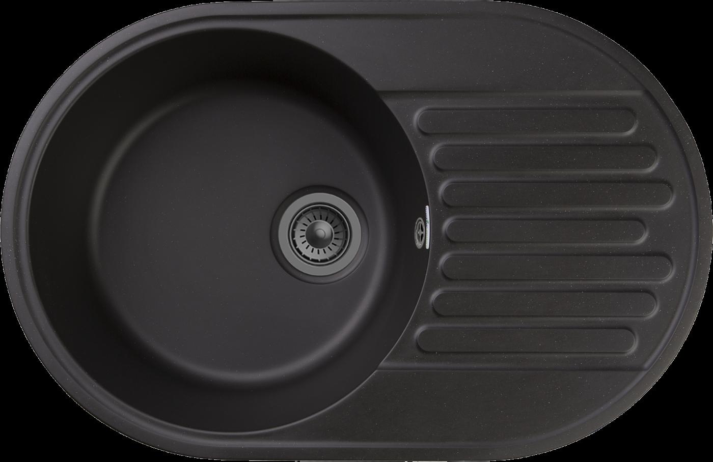 Кухонная мойка GranFest Quarz Z-18 Черный