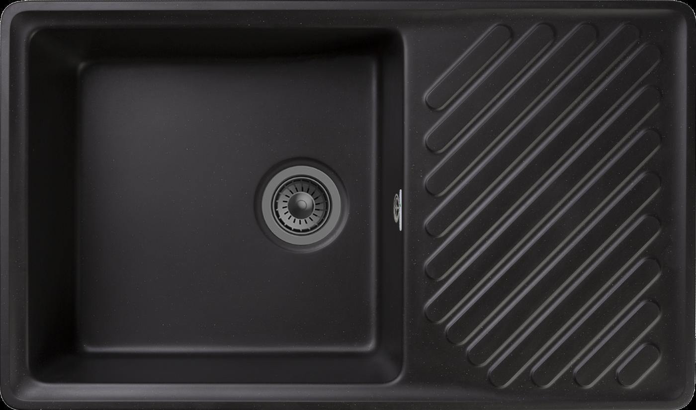 Кухонная мойка GranFest Quarz ZL-53 Черный