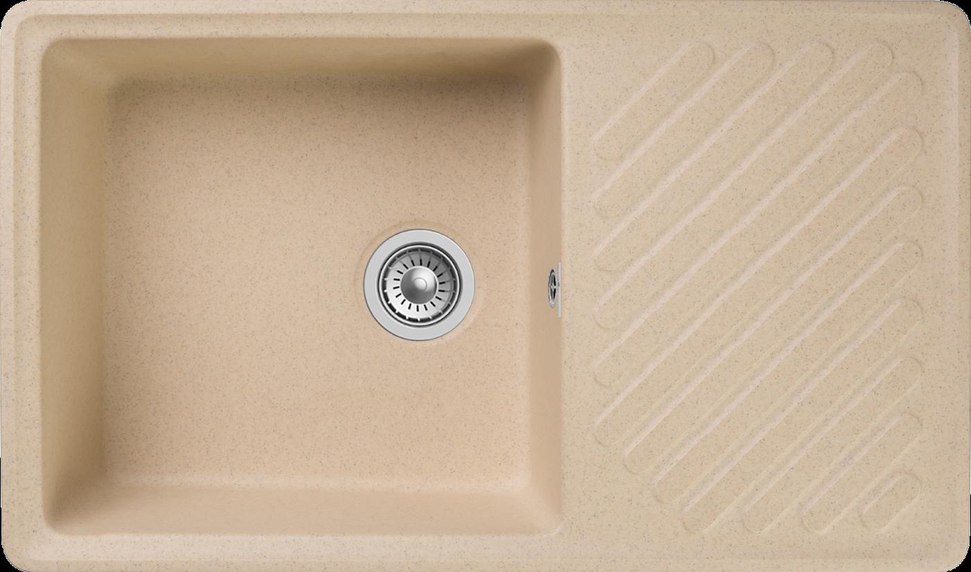 Кухонная мойка GranFest Quarz ZL-53 Бежевый