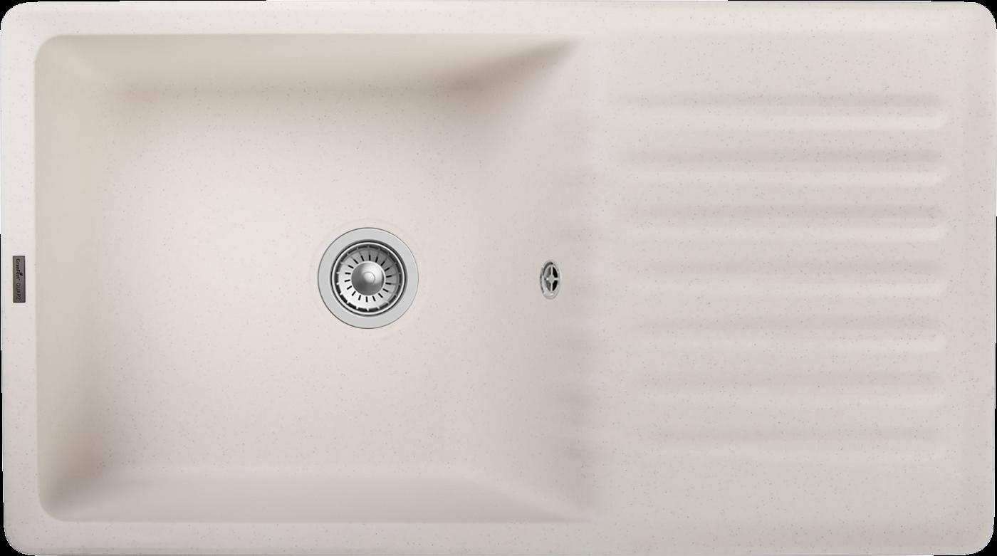 Кухонная мойка GranFest Quarz ZW-73 Белый