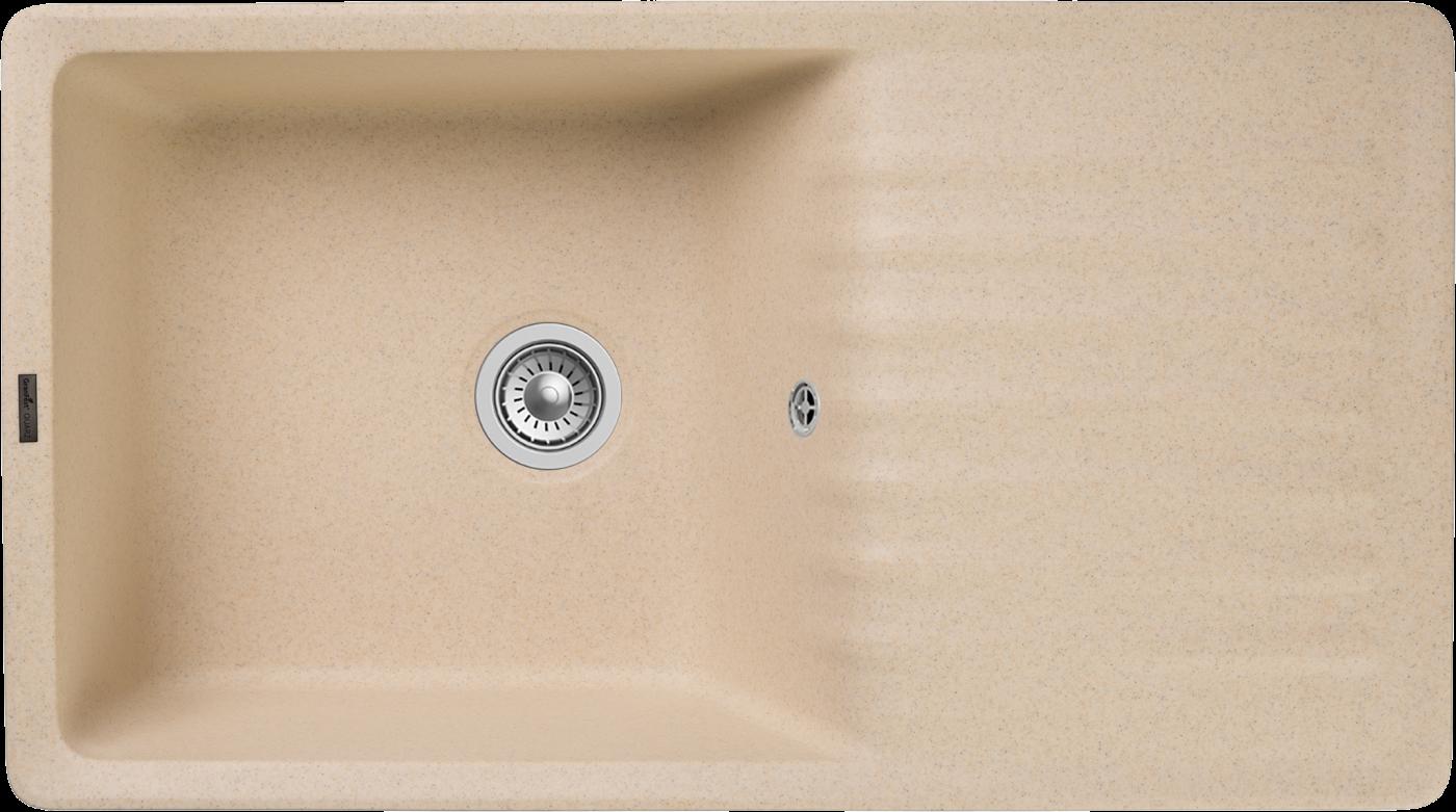 Кухонная мойка GranFest Quarz ZW-73 Бежевый