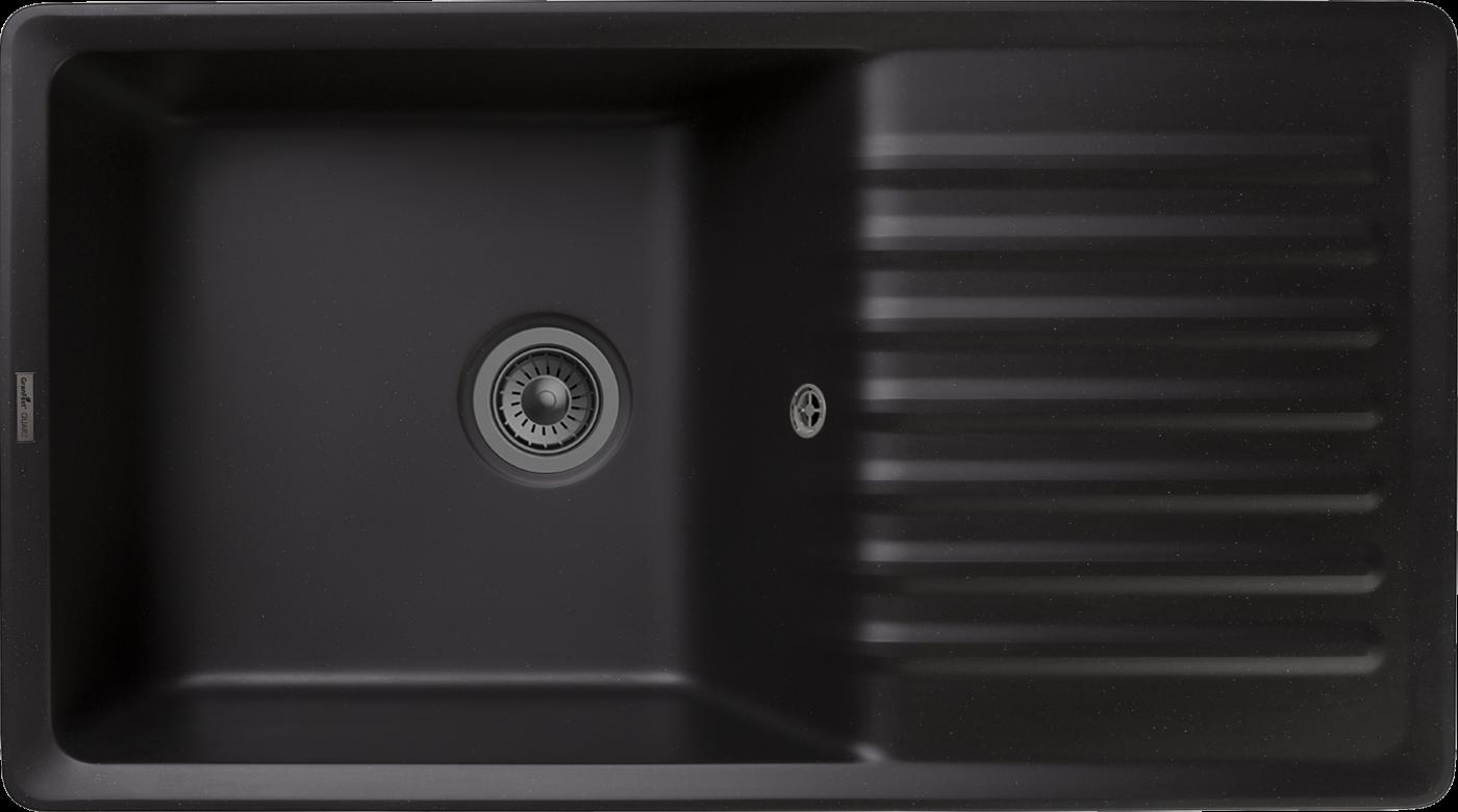 Кухонная мойка GranFest Quarz ZW-73 Черный