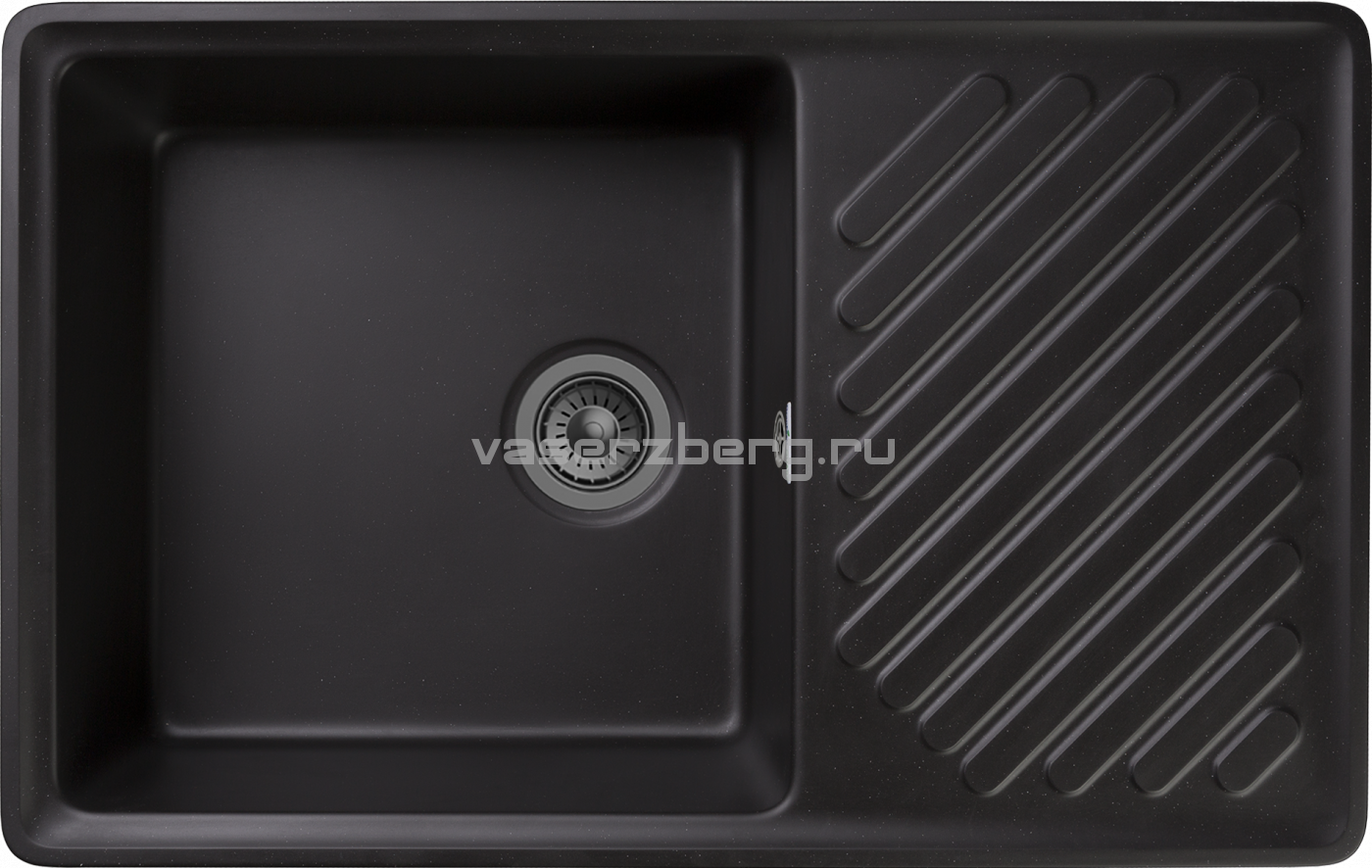 Кухонная мойка GranFest Quarz ZL-52 Черный