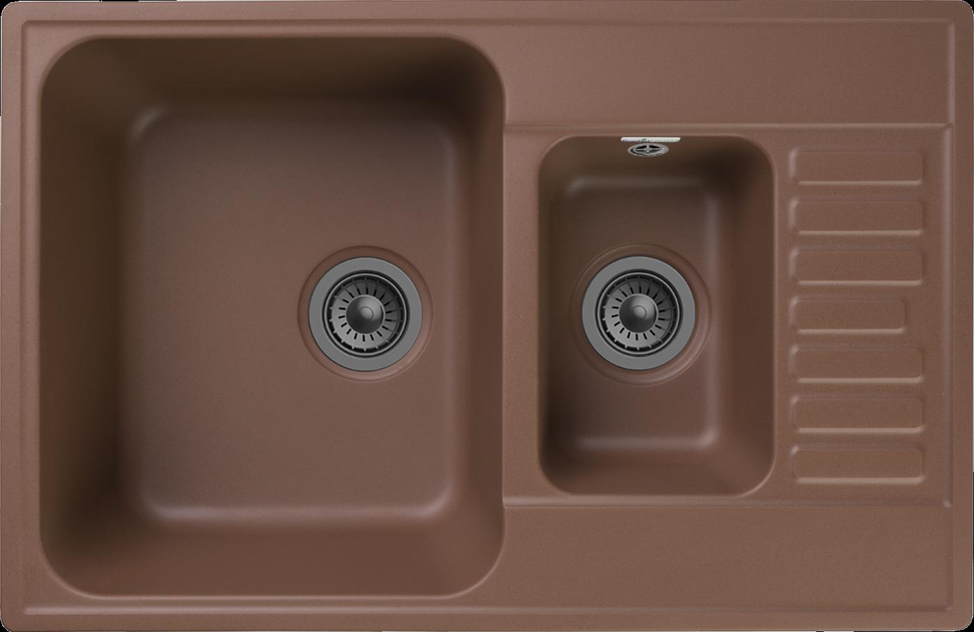Кухонная мойка GranFest Quarz Z-21K Терракот