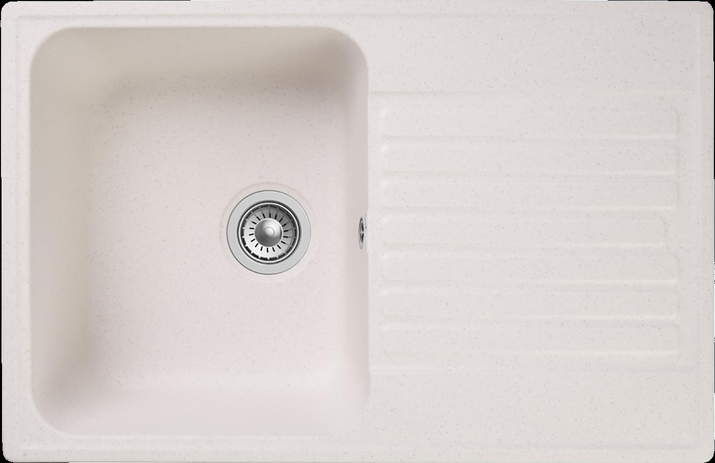Кухонная мойка GranFest Quarz Z-78 Белый