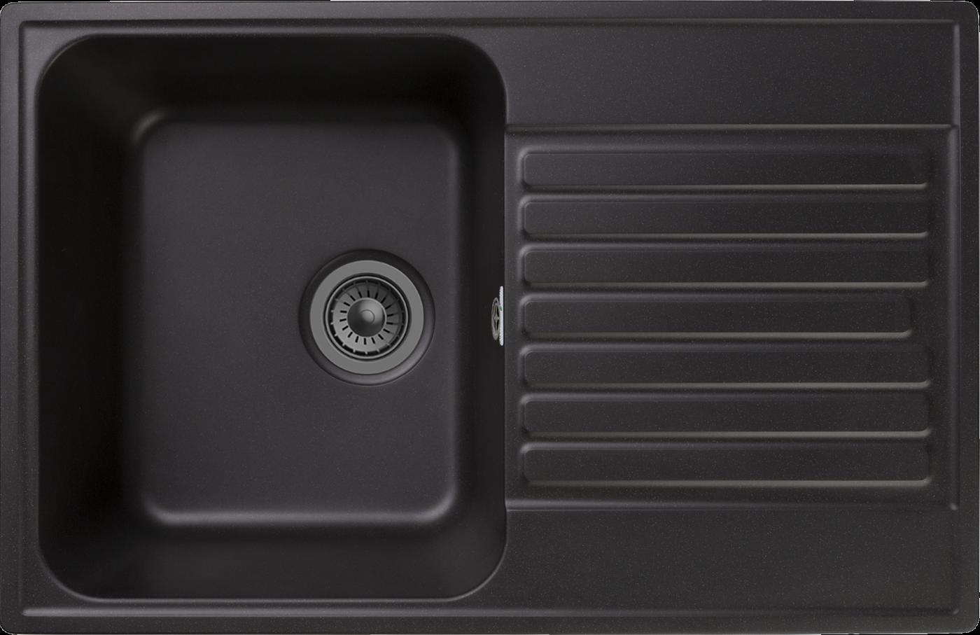 Кухонная мойка GranFest Quarz Z-78 Черный