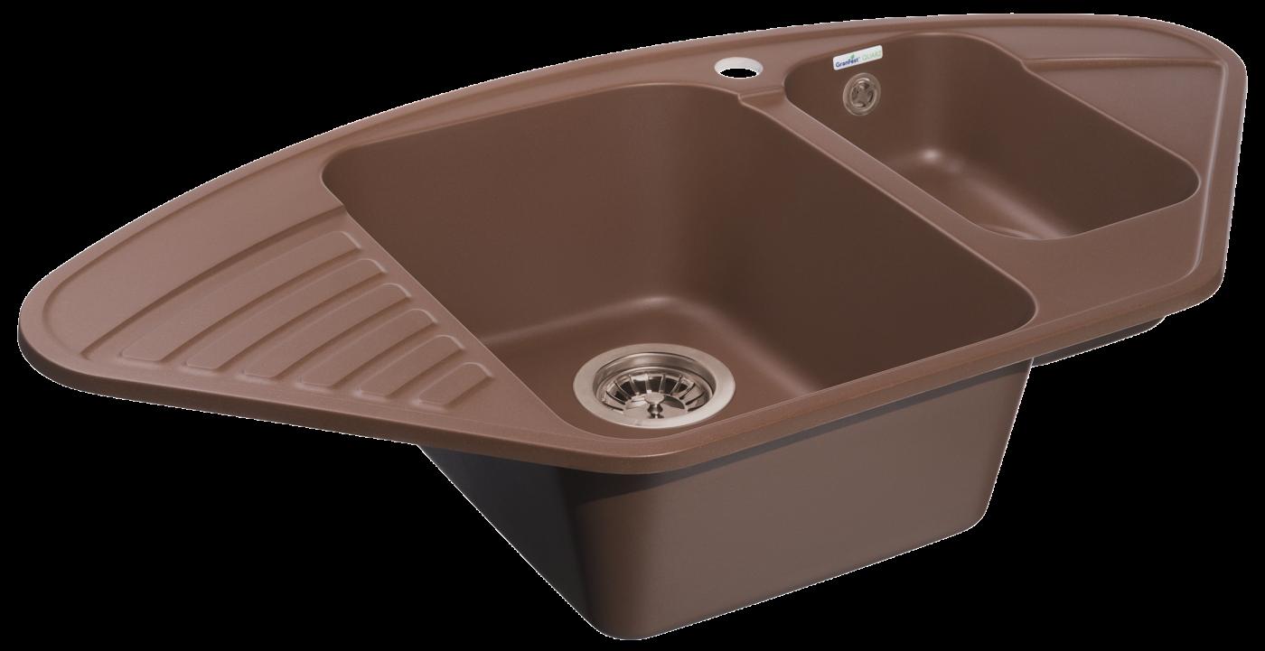Кухонная мойка GranFest Quarz Z-14 Терракот