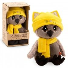 Life Сова Соня  в шапке Котёнок