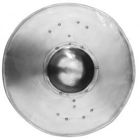 Баклер 35 см стальной