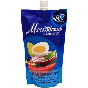 Майонез МОСКОВСКИЙ 200г 67% Провансаль классический дой-пак