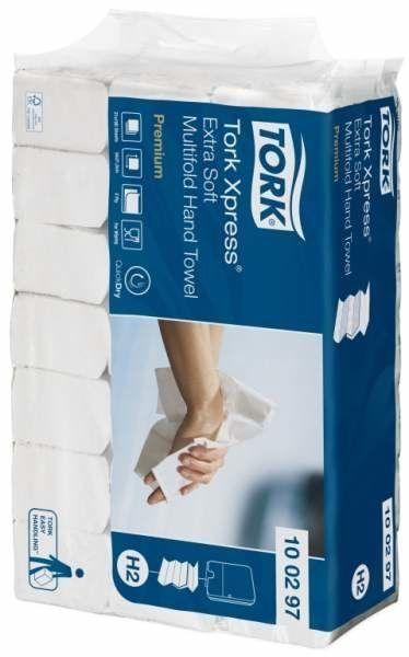 Tork Xpress® листовые полотенца сложения Multifold ультрамягкие, 100297