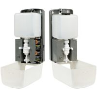 Диспенсер для антисептика OfficeClean Professional, сенсорный, белый, наливной, спрей-распыление, 1л, 307966