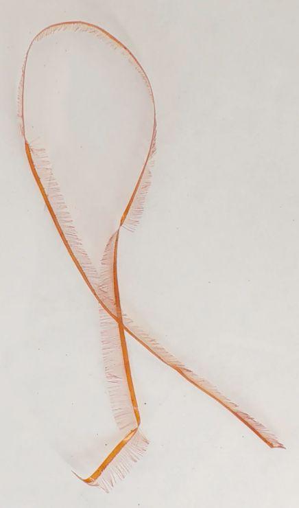 Лакоткань оранжевая