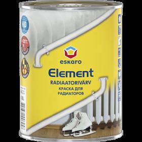 Краска для Радиаторов 0.45л Eskaro Element