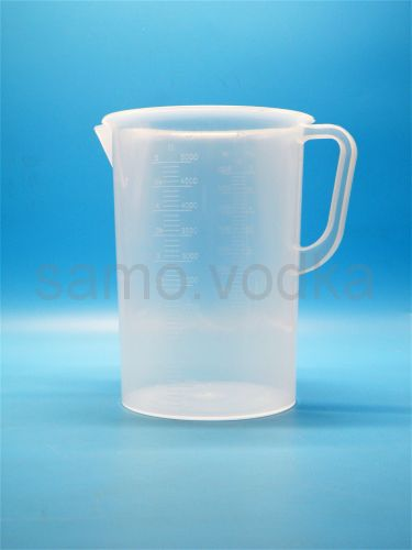Мерный стакан 5000 мл пластиковый с ручкой