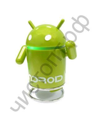 Колонка универс.с радио Android Robot TD-211 акк.Li-ion время раб.~ 1ч (microSD+радио+вход 3,5 jack)