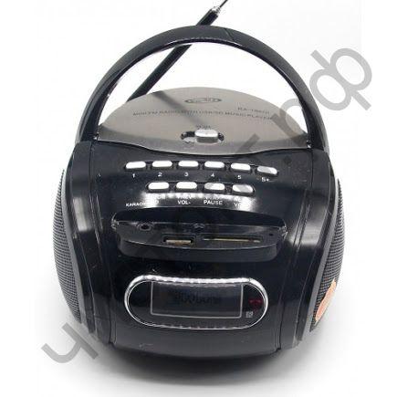 Колонка универс.с радио GOLON RX-186Q USB SD пульт аккум 220в 3*АА микроф встороен + проводной громкогов