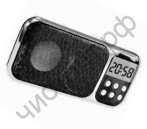 Колонка универс.с радио HJ-92 Дисплей, USB + micro SD, часы, календарь, будильник, фонарь качеств. звук разн.цвет.