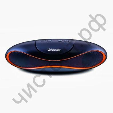 Портативная колонка DEFENDER Alpha S4 4 Вт, FM, SD/USB, MP3 дизайн Регби