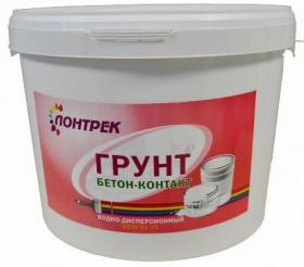 Грунт Бетон-Контакт Lontrek 10кг / Лонтрек