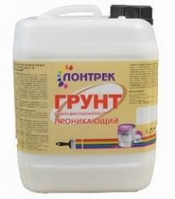 Грунт ВД-АК01-15 Lontrek 10л для Внутренних Работ / Лонтрек