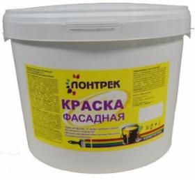 Краска ВДАК 10-11 Фасадная Lontrek 40кг / Лонтрек