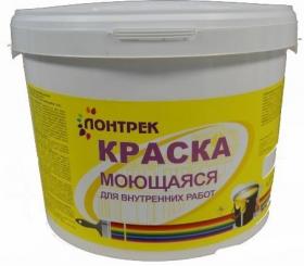 Краска ВДАК 20-06Л Моющаяся Lontrek 15кг / Лонтрек