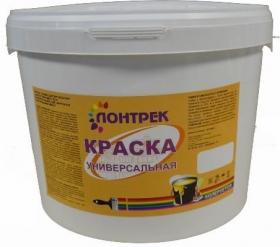 Краска ВДАК 10-12 Универсальная Lontrek 40кг / Лонтрек