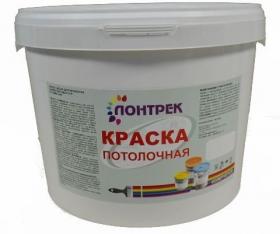 Краска ВДАК 20-01 для Потолков Lontrek 15кг / Лонтрек