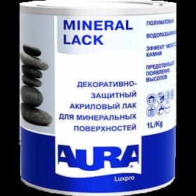 Декоративно-Защитный Акриловый Лак Aura 1л Luxpro Mineral Lack для Минеральных Поверхностей