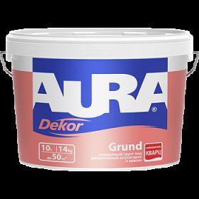 Колеруемый Грунт Aura 3.5л Dekor Grund под Декоративные Штукатурки и Краски
