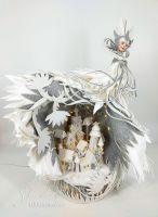 'ЗИМУШКА-ЗИМА' (Объемная композиция с подсветкой) Фом-арт (Татьяна Шмелёва)